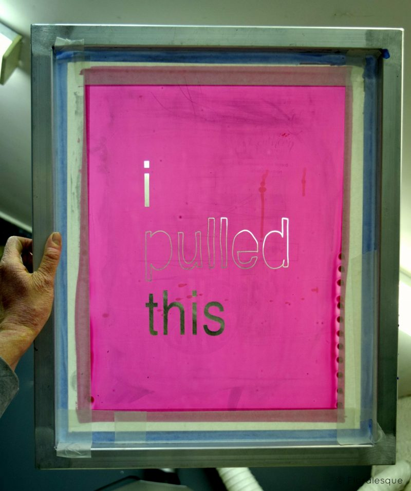 Review - Pulled Screen Printing Workshop