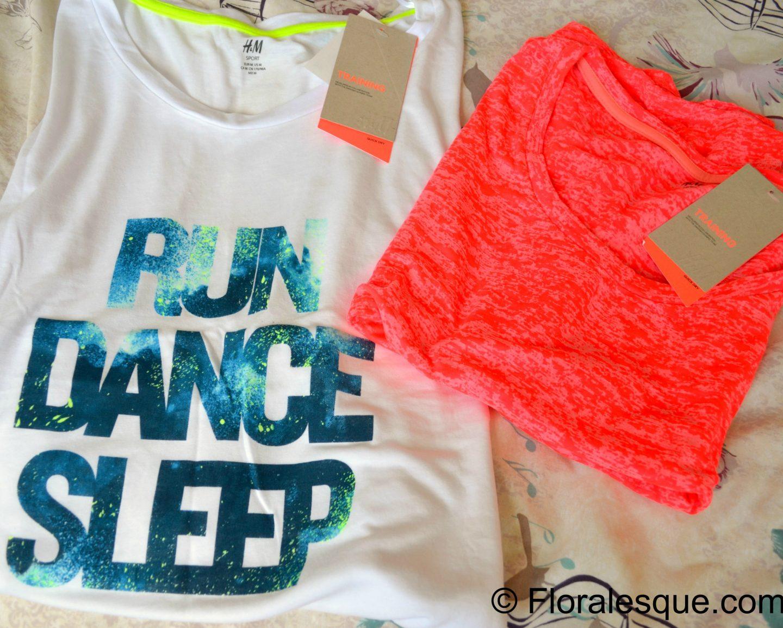 H&M Training Crossfit Run Dance Sleep Workout