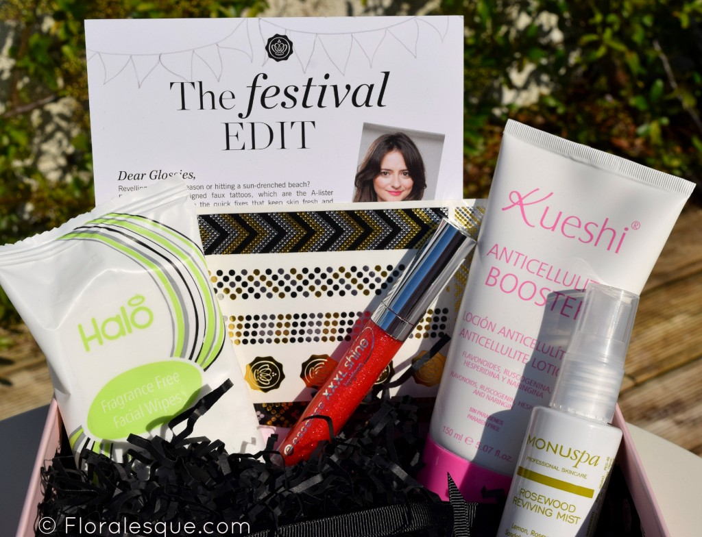 Glossybox subscription June Review