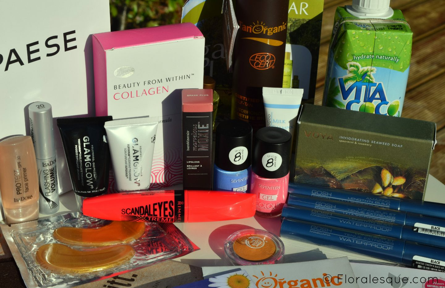 Goodie Bag TanOrganic Beauty Blog Awards