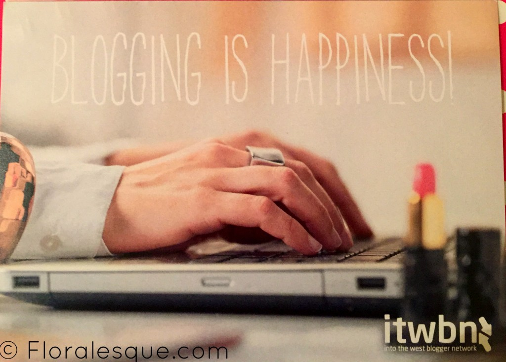 ITWBN Blogging is Happiness Believe Inspiration Postcards