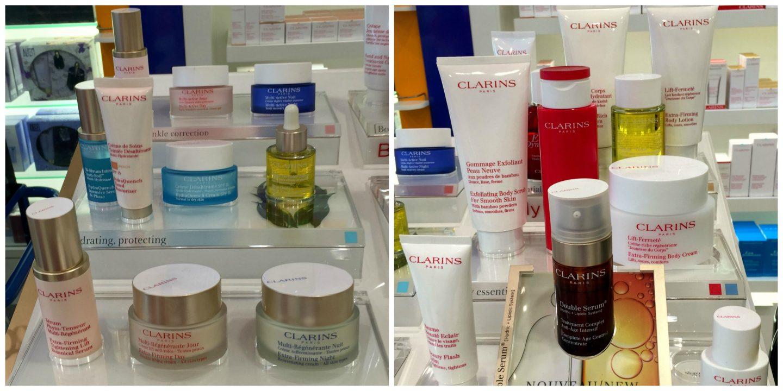 Clarins Product Range