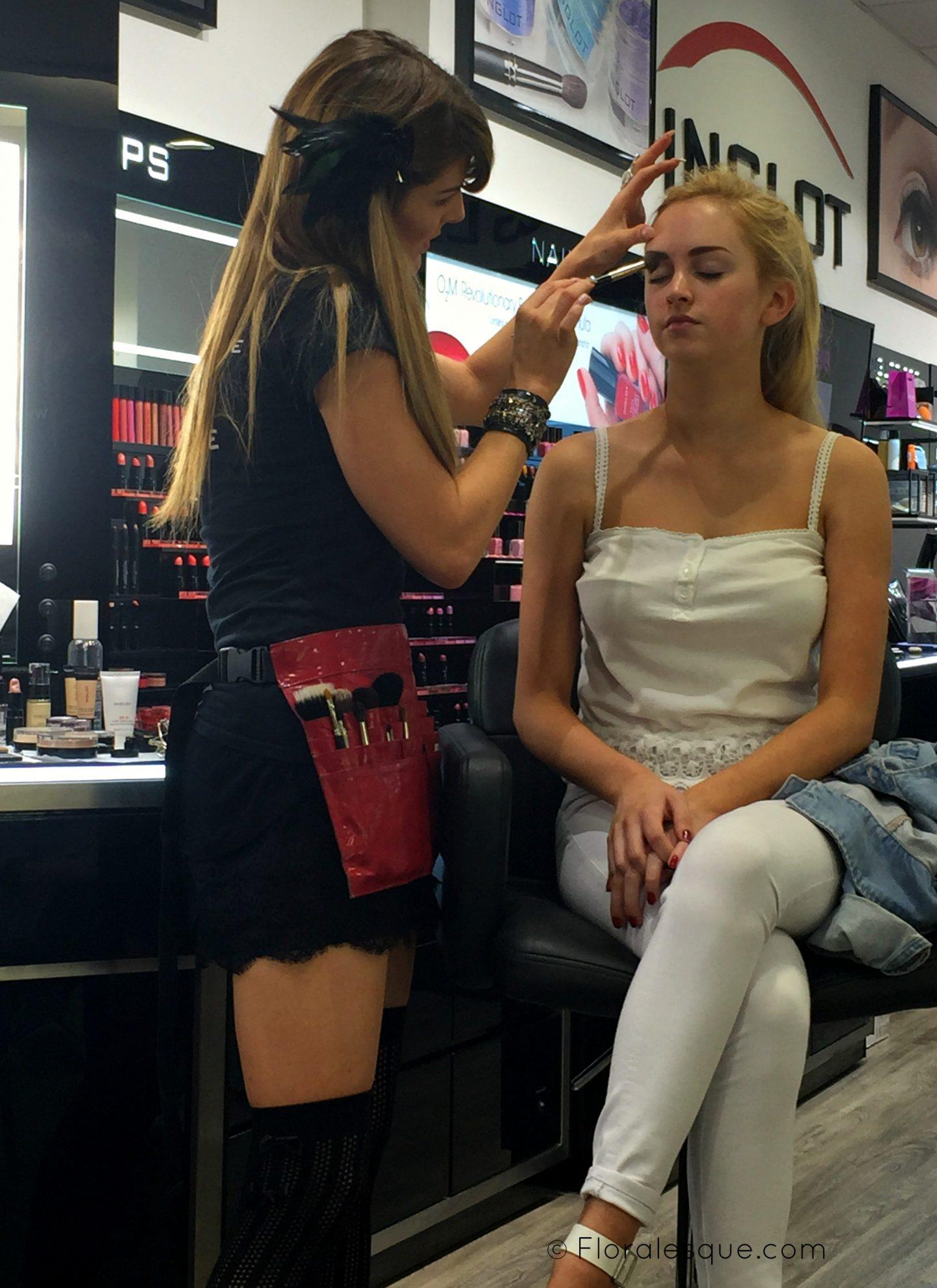 Inglot Bridal Make up class with Make up Artist MUA Amy Fadden
