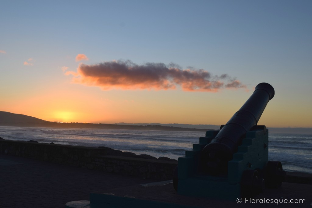 Strandhill. Sligo. Sunset. Floralesque