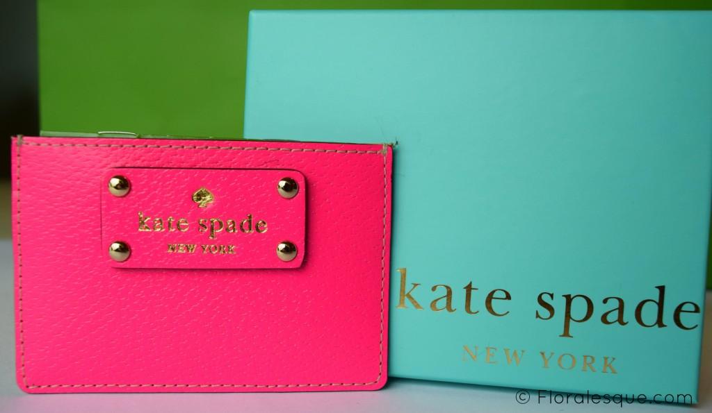 Floralesque My Favourite Kate Spade pieces