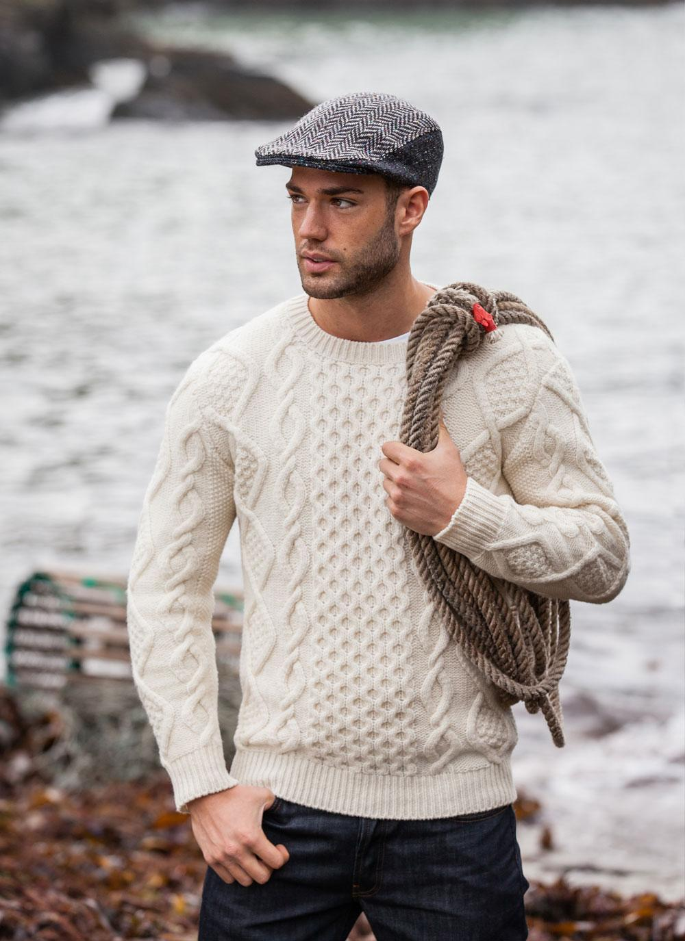 Traditional Aran Jumper Floralesque Christmas Gift Guide