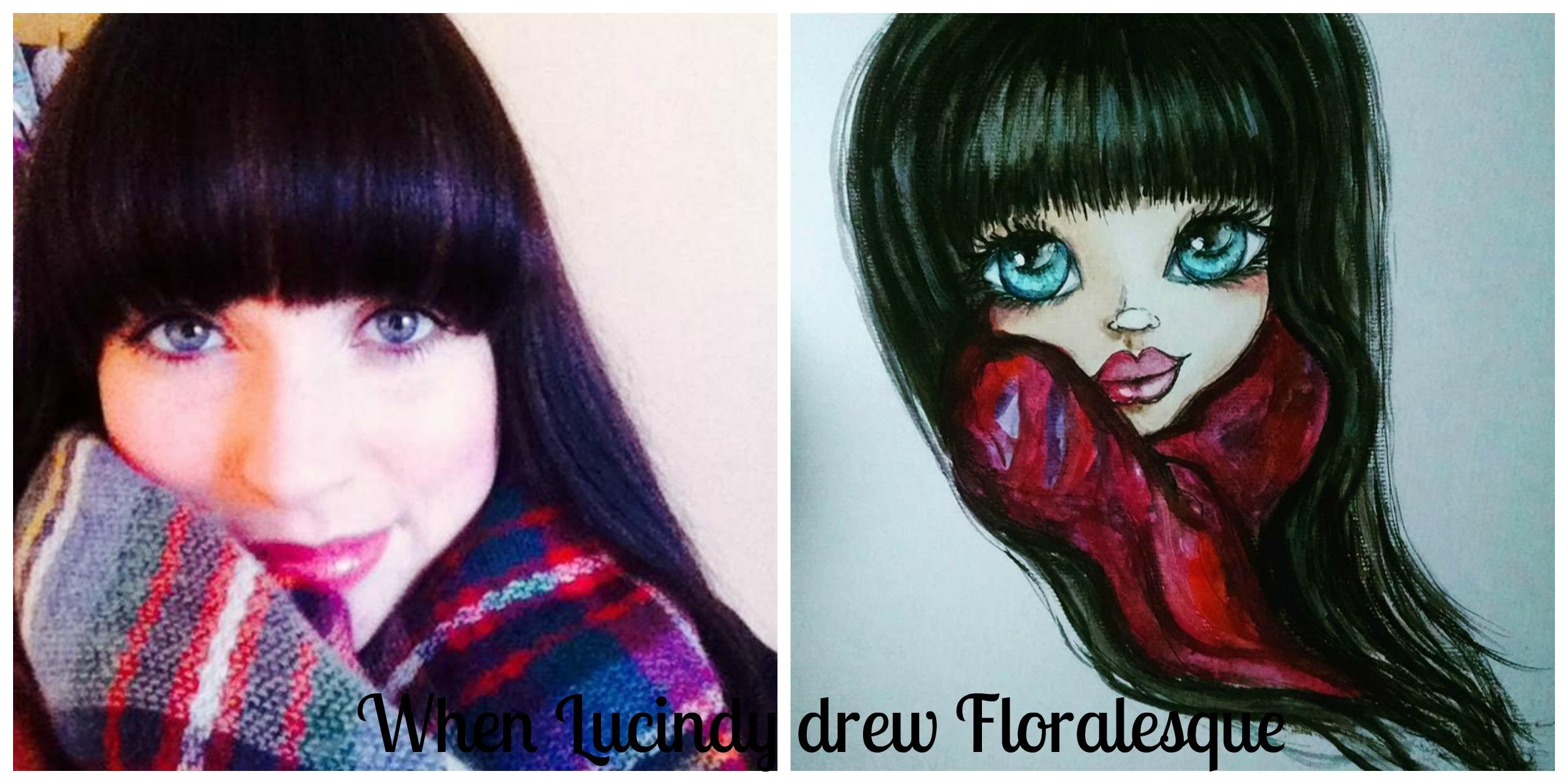 When Lucindy drew Floralesque
