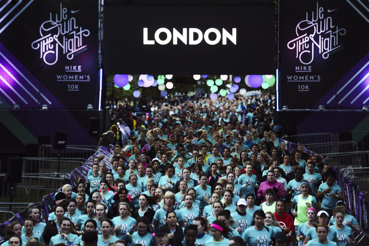 Nike We Own the Night London 2014 Floralesque