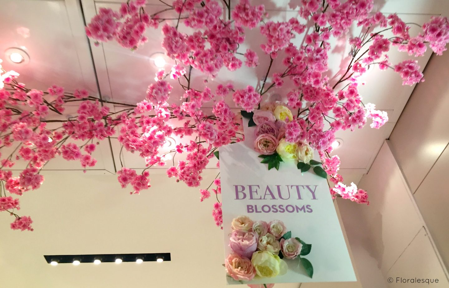 Brown Thomas Beauty Blossoms Garden Pop Up Floralesque