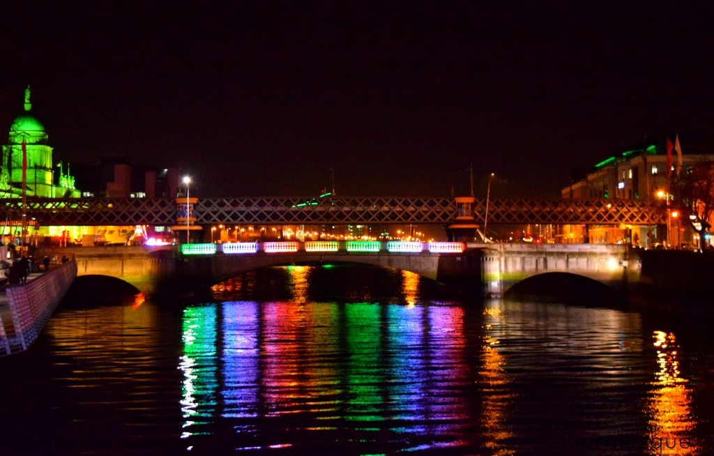 Dublin goes Green Floralesque Bridge