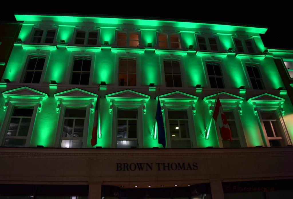 Dublin goes Green Floralesque brown thomas