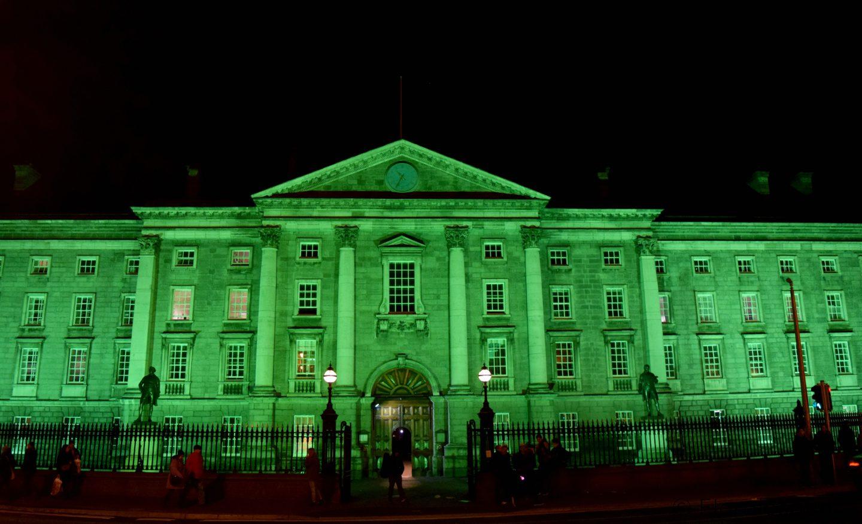 Dublin goes Green Floralesque trinity college ireland