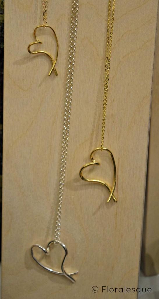 deBlaca Jewellery Floralesque heart