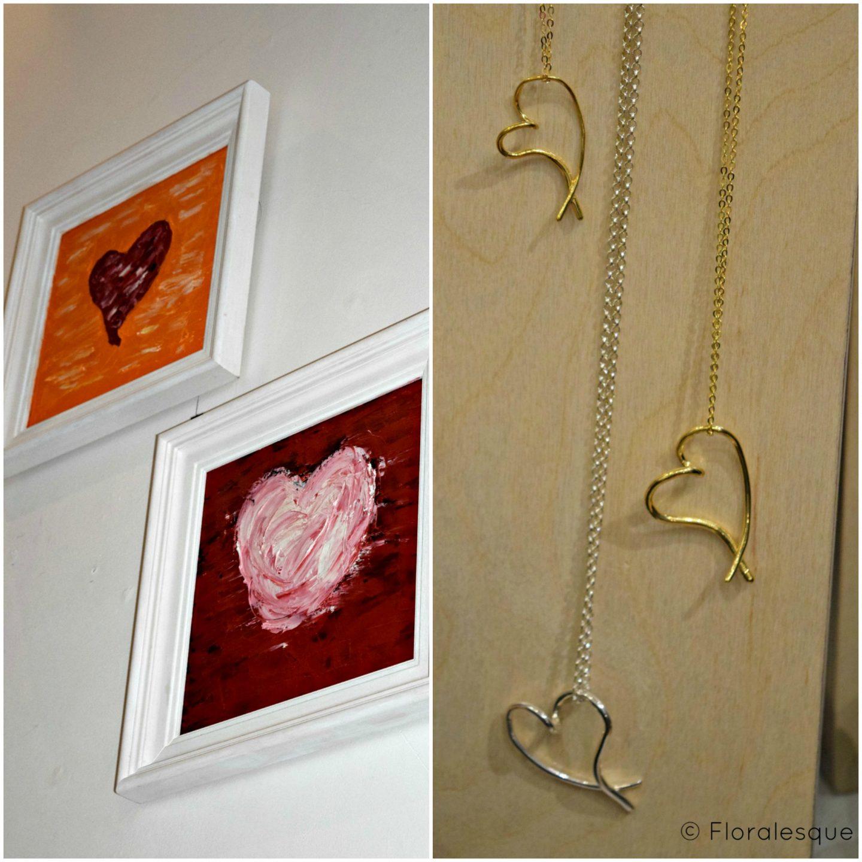 deBlaca Jewellery Floralesque selection heart