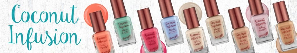 Barry M Coconut Infusions Nail Polish Floralesque 2