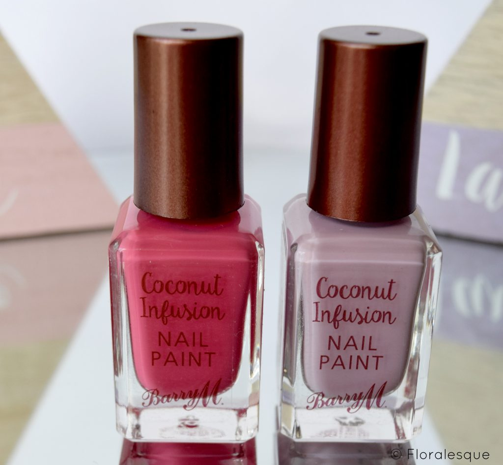 Barry M Coconut Infusions Nail Polish Floralesque 3