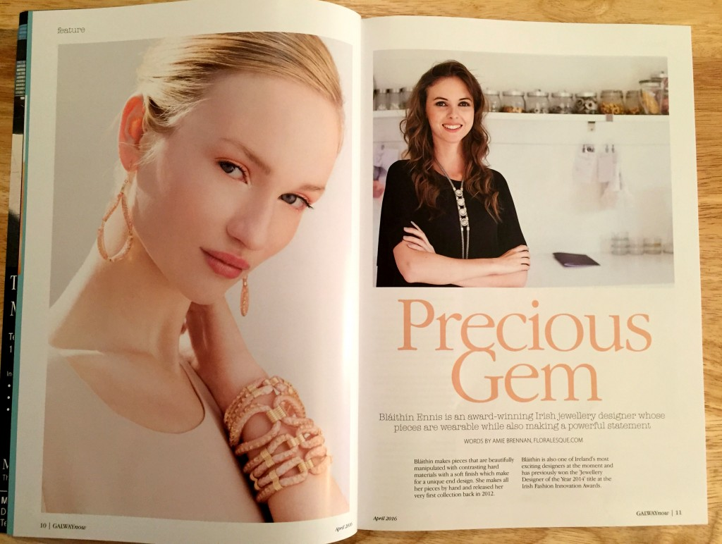 Galway Now Magazine April 2016 Floralesque Blaithin Ennis interview