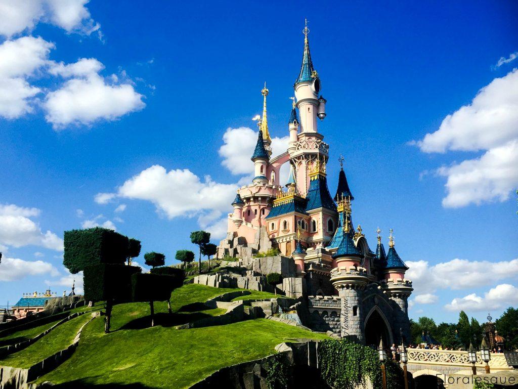 Floralesque Disneyland Paris Castle. Time to Step Back