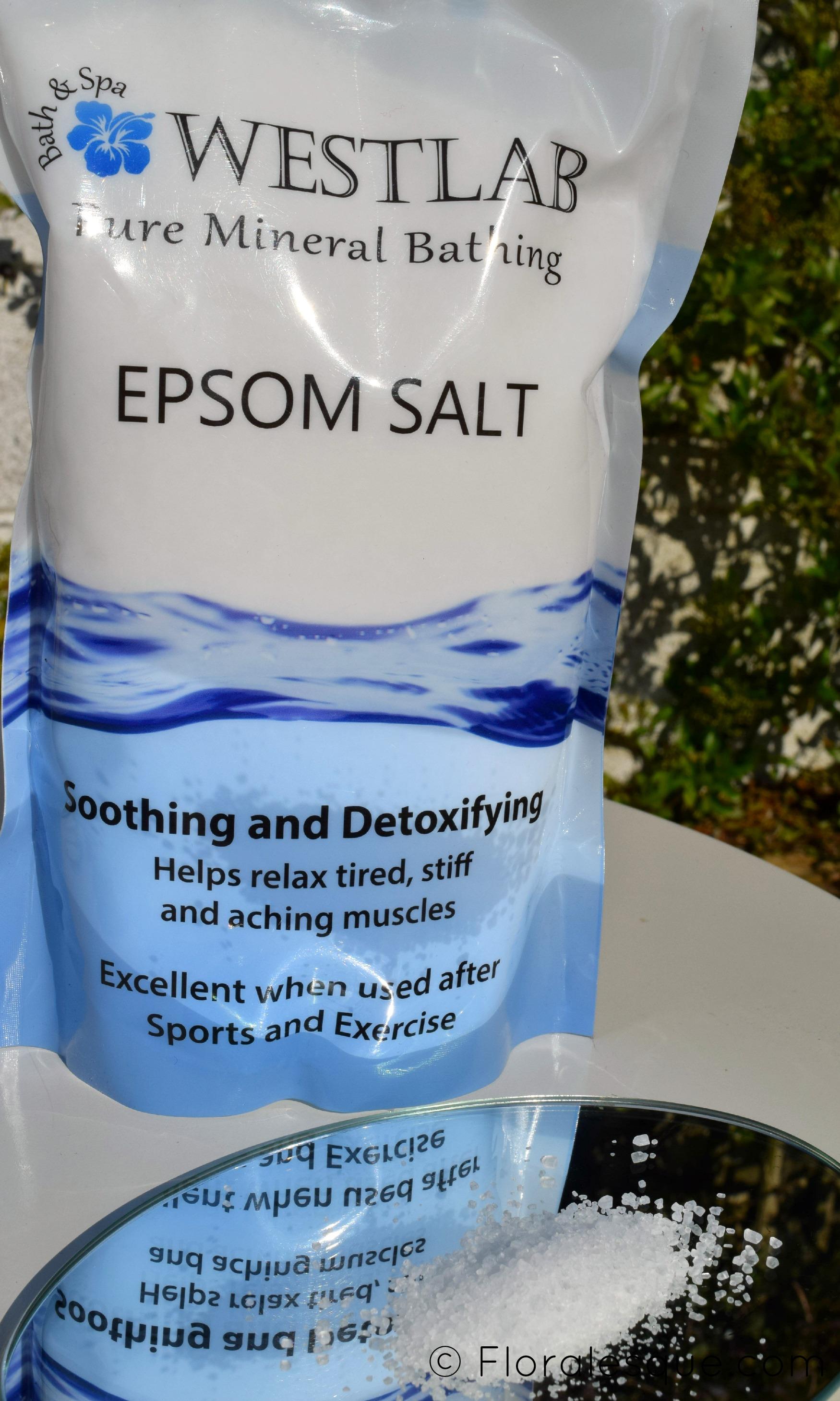 ready set soak why i love epsom salts floralesque. Black Bedroom Furniture Sets. Home Design Ideas