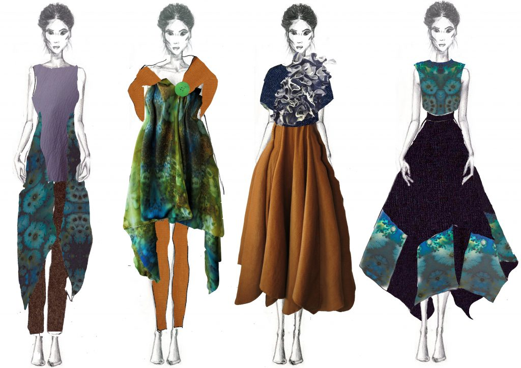 2016 Fashion Graduate Showcase Exhibition Sligo Floralesque Jade Reidy 3