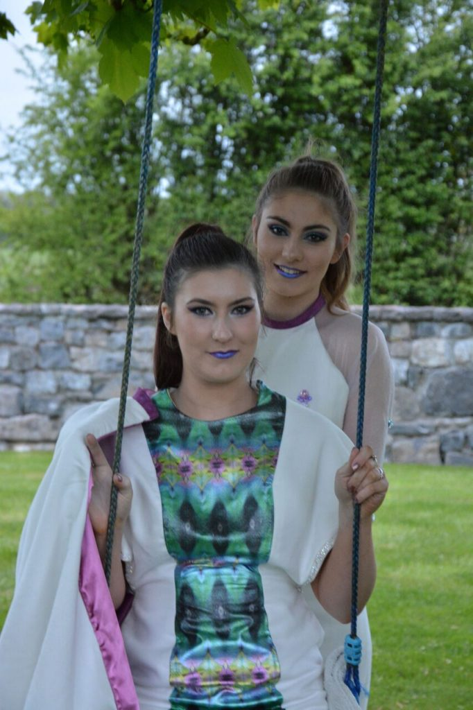 2016 Fashion Graduate Showcase Exhibition Sligo Floralesque Roseanne Mc Namee 5