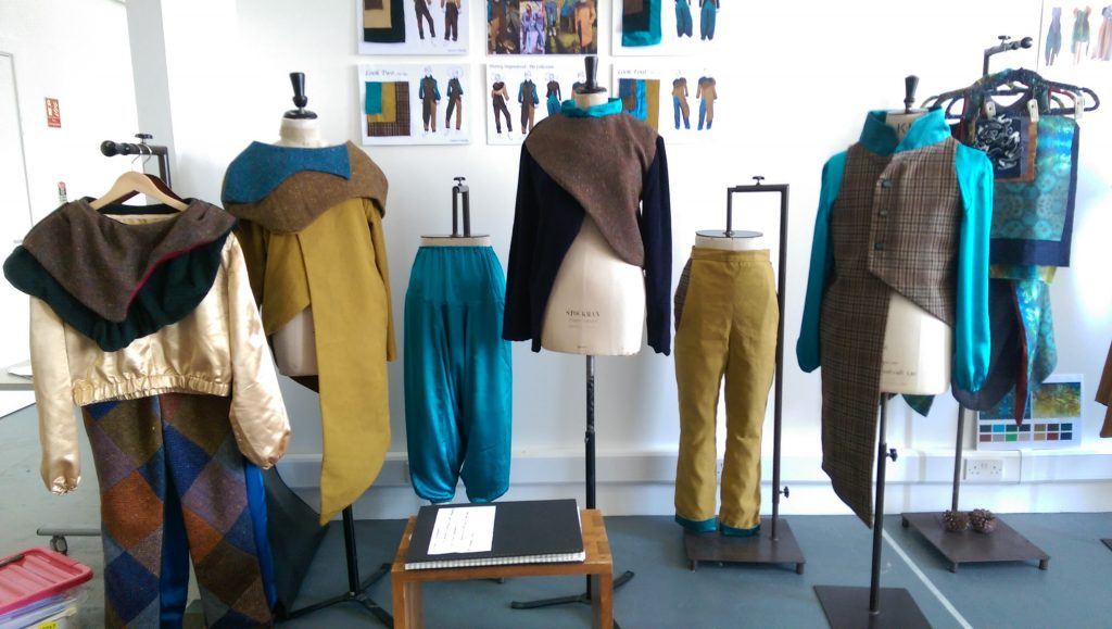 2016 Fashion Graduate Showcase Exhibition Sligo Floralesque Saoirse O Reilly 4