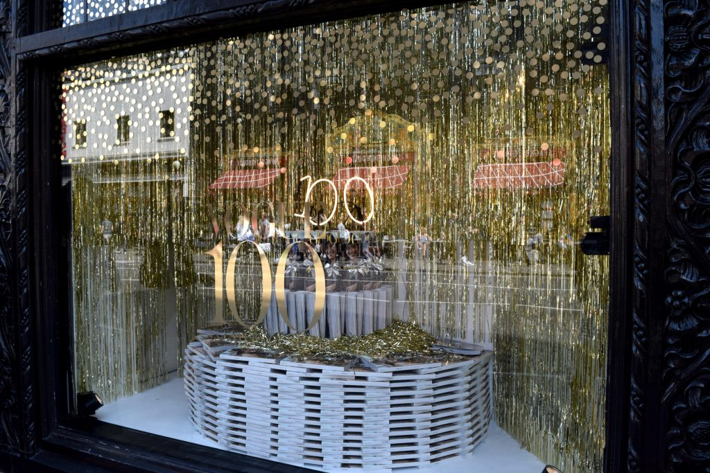 Retail Stores Celebrating Vogue's 100 Year Anniversary Floralesque 2