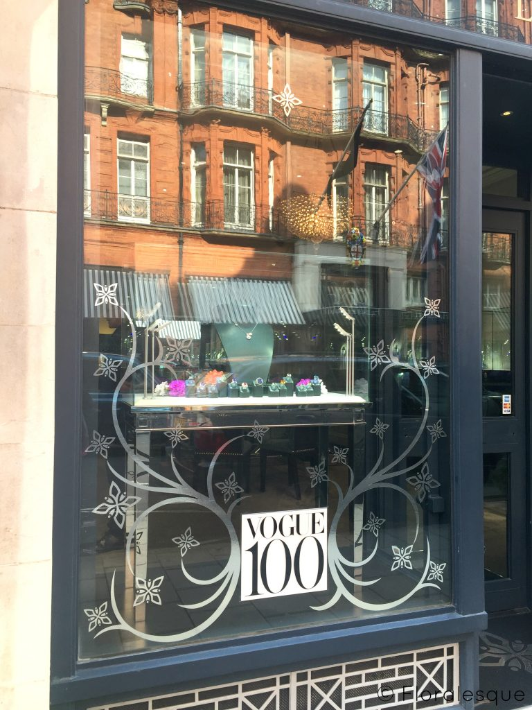 Retail Stores Celebrating Vogue's 100 Year Anniversary Floralesque 4