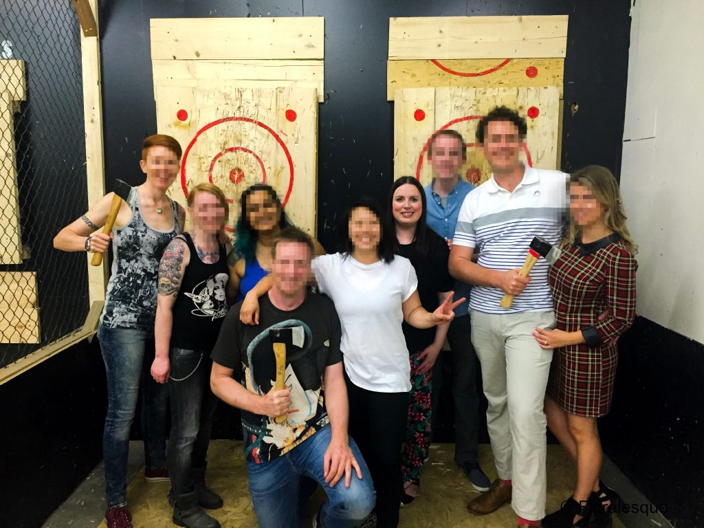 Urban Axe throwing worth the hype Floralesque 1