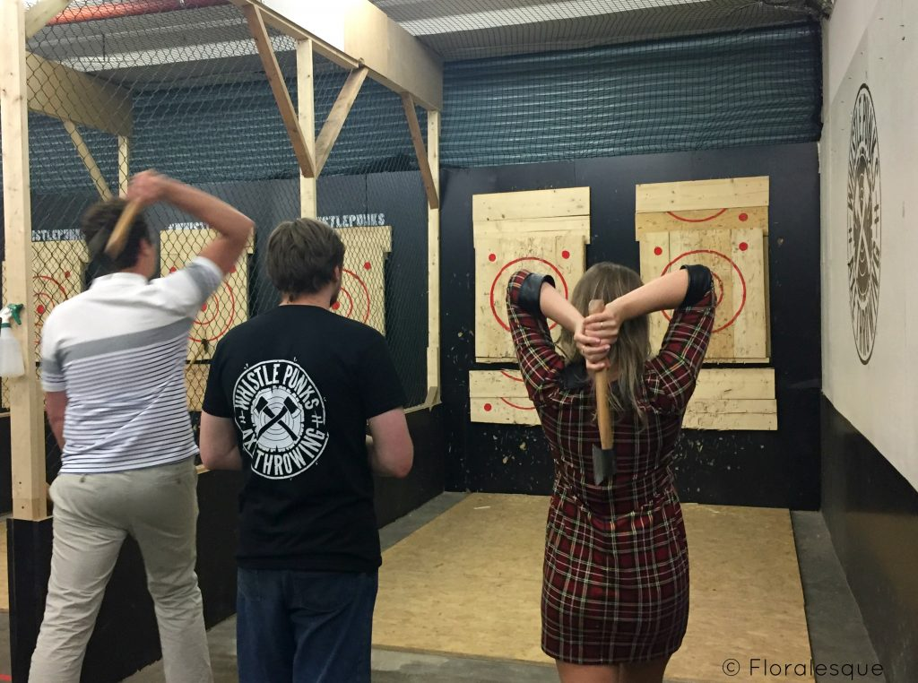 Urban Axe throwing worth the hype Floralesque 2