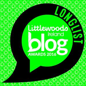 Longlisted for the Littlewoods Ireland Blog Awards 2016 Floralesque