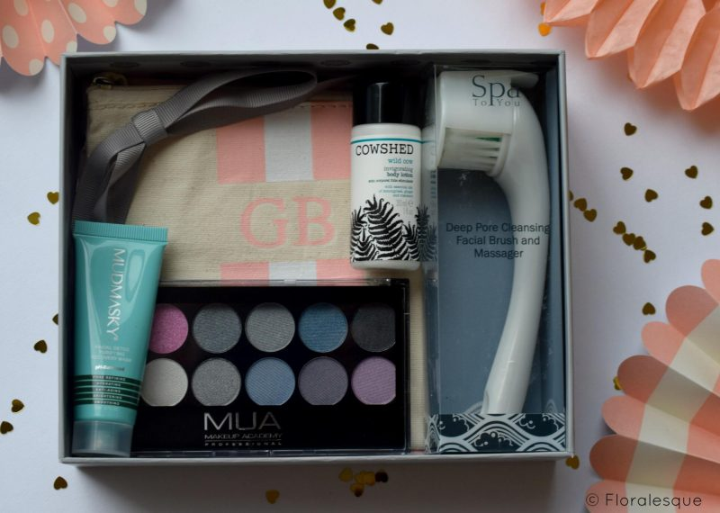 Glossybox Review. August 2016. Review Floralesque