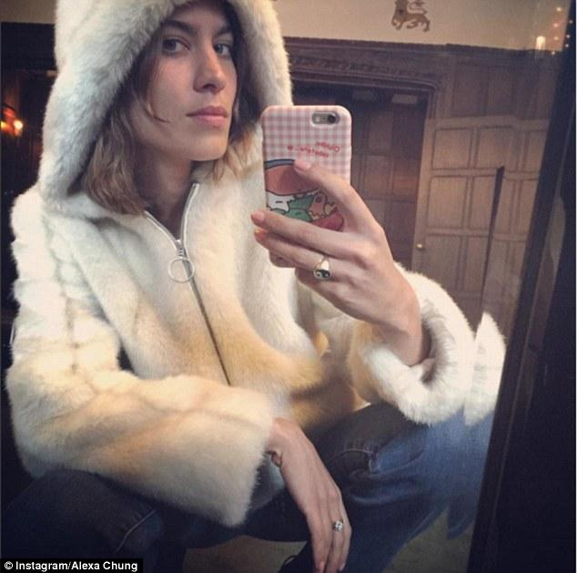 Alexa Chung Winter collaboration with M&S
