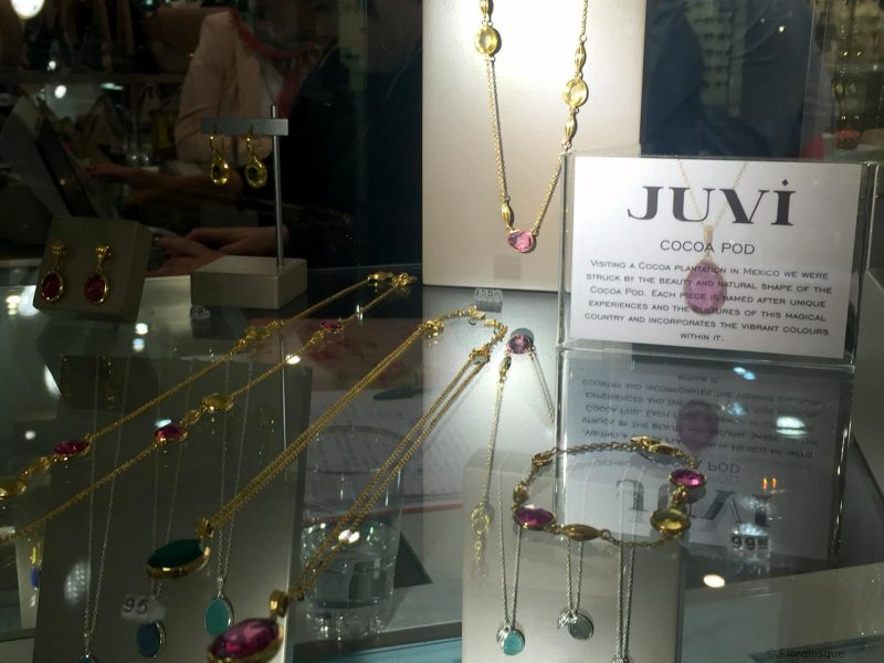 JUVI DESIGNS NEW INITIAL COLLECTION LAUNCH floralesque