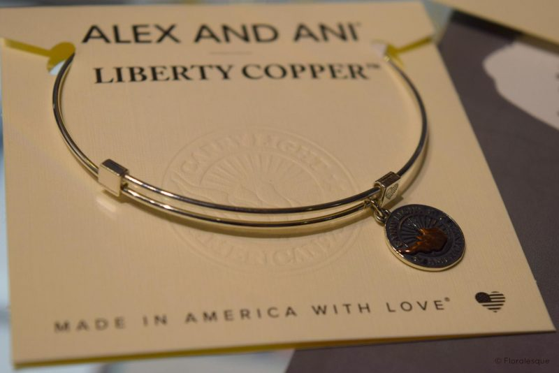 Alex & Ani Liberty Copper Collection Floralesque