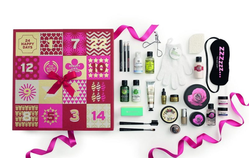 Wow - The Body Shop Advent Calendars