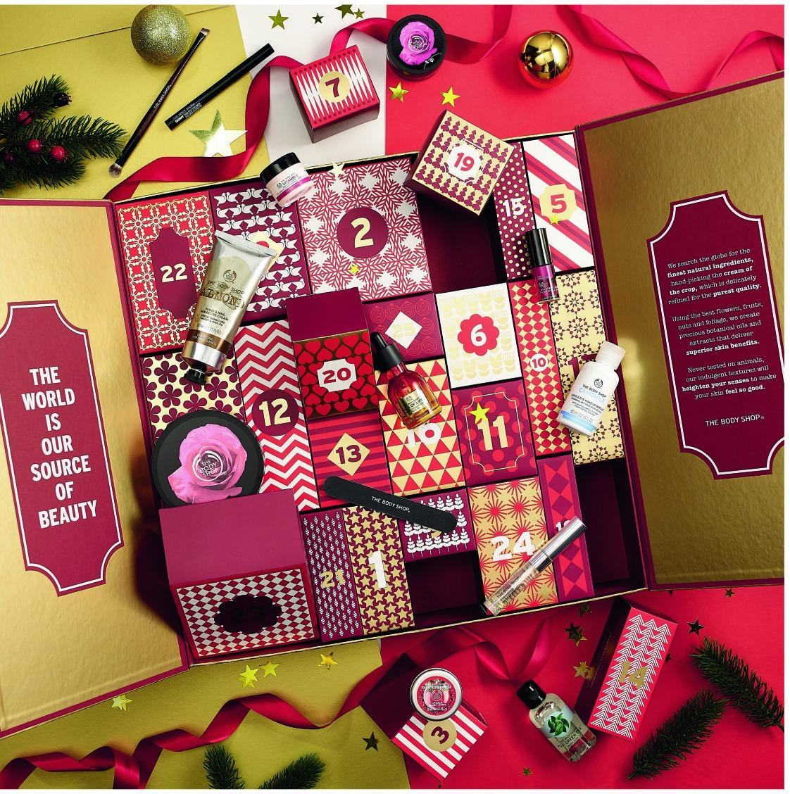 body shop adventskalender preis