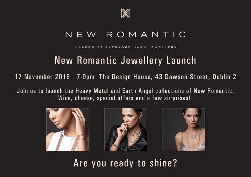 New Romantic Interview & Launch Invite Floralesque 1