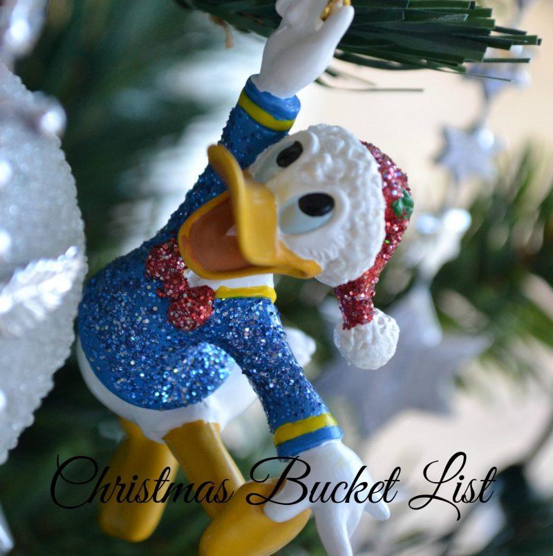 Christmas Bucket List