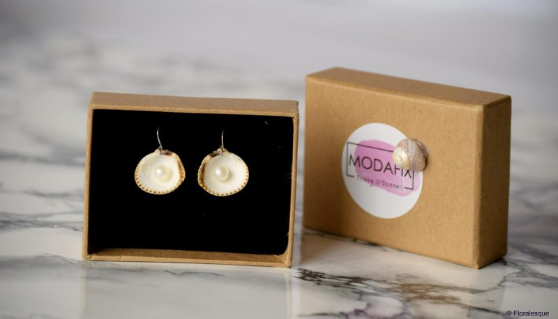 Modafix Earrings by Triona O'Donnell