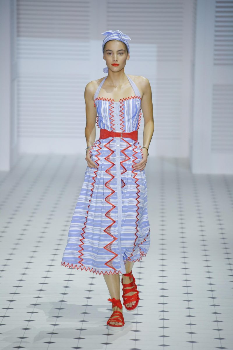 Temperley London takes us to the French Riviera at London Fashion Week