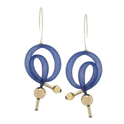 Bláithín Ennis bradley large swirl earrings