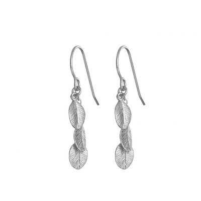 CHUPI LEAVES IN THE FOREST EARRINGS IN SILVER