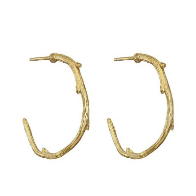 CHUPI LOVE IS ALL YOU NEED MAXI EARRINGS IN GOLD
