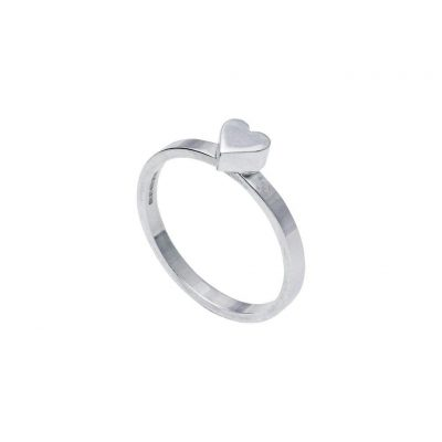 Edge Only Stacking Ring – Heart