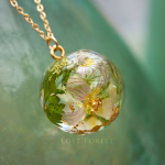 Lost Forest 'SORREL WOODLAND'- NECKLACE