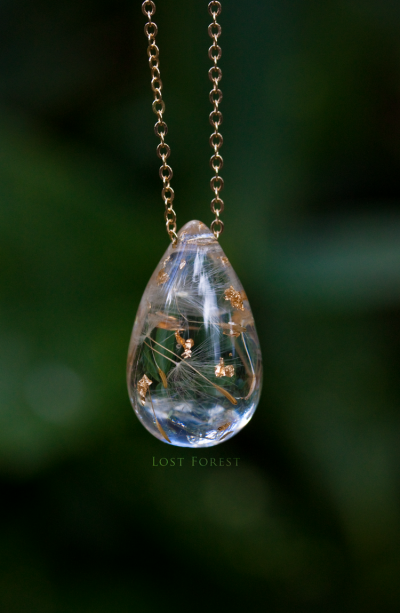 Lost Forest 'WISH UPON A RAINDROP'- NECKLACE