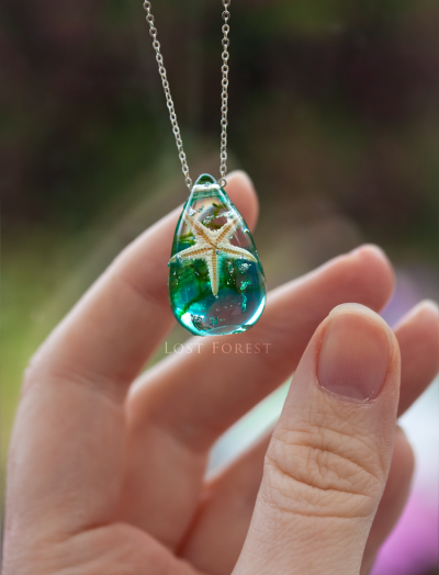 Lost forest 'THE IRISH MERMAID'- NECKLACE