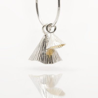 Martina Hamilton IRISH DESIGNER PENDANT – TWO PIECE SHELL CONE