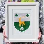 Painted Clans Single Crest - Framed
